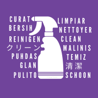 03 Clean In Every Language Savvy Cleaner Funny Cleaning Shirts-A