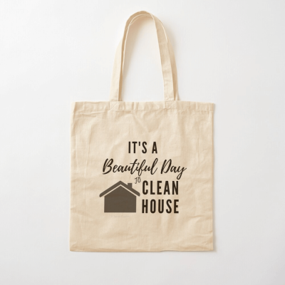 Beautiful Day to Clean House, Savvy Cleaner Funny Cleaner Gifts, Cloth Bag