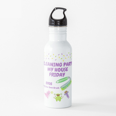 Cleaning Party, Savvy Cleaner Funny Cleaning Gifts, Cleaning Water bottle