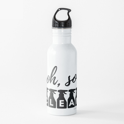 Oh So Clean, Savvy Cleaner Funny Cleaning Gifts, Cleaning Water bottle