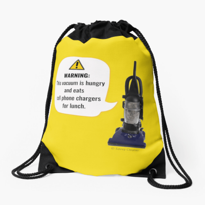 Funny Cleaning Gifts, Cleaning Drawstring Bag