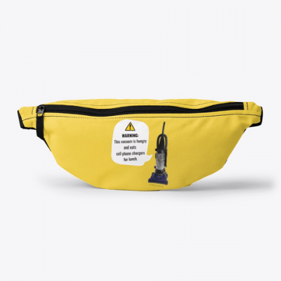 This Vacuum is Hungry, Savvy Cleaner Funny Cleaning Gifts, Cleaning Fanny Pack