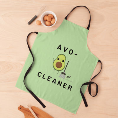 Avo-Cleaner, Savvy Cleaner Funny Cleaning Gifts, Cleaning Apron