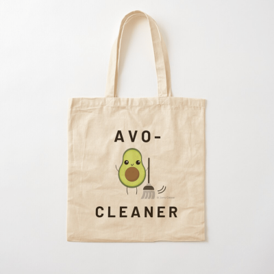 Avo-Cleaner, Savvy Cleaner Funny Cleaning Gifts, Cleaning Cotton Tote Bag