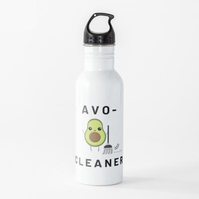 Avo-Cleaner, Savvy Cleaner Funny Cleaning Gifts, Cleaning Water Bottle