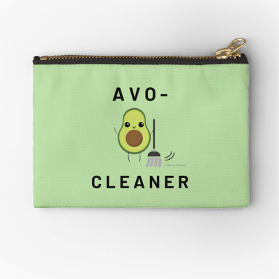 Avo-Cleaner, Savvy Cleaner Funny Cleaning Gifts, Cleaning Zipper Bag