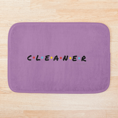 CLEANER, Savvy Cleaner Funny Cleaning Gifts, Cleaning Bath Mat