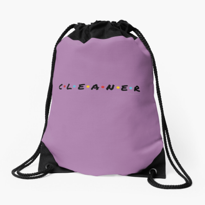 CLEANER, Savvy Cleaner Funny Cleaning Gifts, Cleaning Drawstring Bag