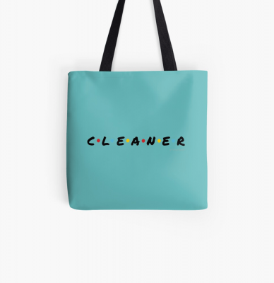 CLEANER, Savvy Cleaner Funny Cleaning Gifts, Cleaning Tote Bag