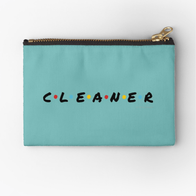 CLEANER, Savvy Cleaner Funny Cleaning Gifts, Cleaning Zipper Bag