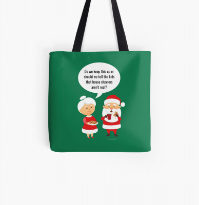 House Cleaners Aren't Real, Savvy Cleaner Funny Cleaning Gifts, Cleaning Tote Bag