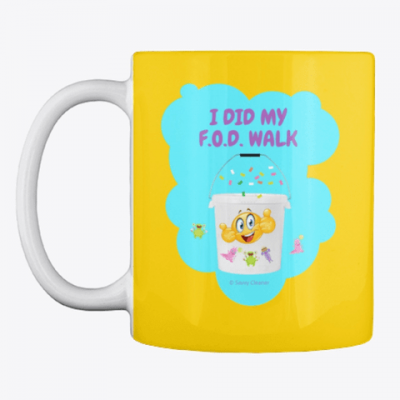 I Did My F.O.D. Walk, Savvy Cleaner Funny Cleaning Gifts, Cleaning Mug