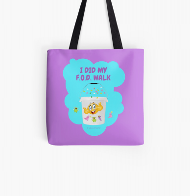 I Did My F.O.D. Walk, Savvy Cleaner Funny Cleaning Gifts, Cleaning Tote Bag