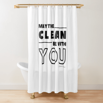 Funny Cleaning Gifts, Cleaning Shower Curtain