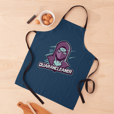 Quarancleaner, Savvy Cleaner Funny Cleaning Gifts, Cleaning Apron