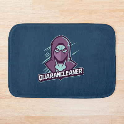 Quarancleaner, Savvy Cleaner Funny Cleaning Gifts, Cleaning Bath Mat