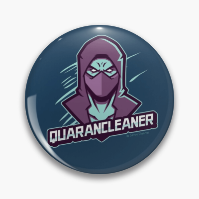 Quarancleaner, Savvy Cleaner Funny Cleaning Gifts, Cleaning Button