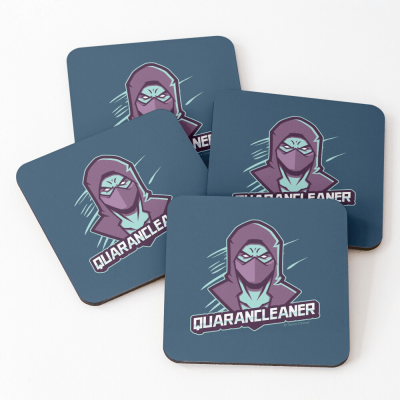 Quarancleaner, Savvy Cleaner Funny Cleaning Gifts, Cleaning Coasters
