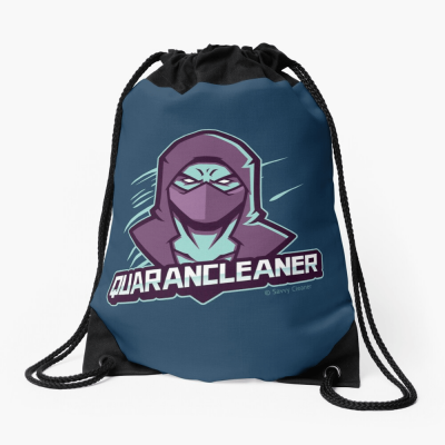 Quarancleaner, Savvy Cleaner Funny Cleaning Gifts, Cleaning Drawstring Bag