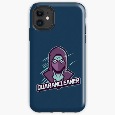 Quarancleaner, Savvy Cleaner Funny Cleaning Gifts, Cleaning Iphone Case