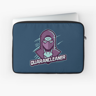 Quarancleaner, Savvy Cleaner Funny Cleaning Gifts, Cleaning Laptop Sleeve