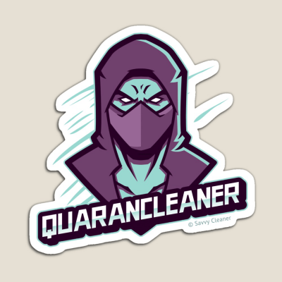Quarancleaner, Savvy Cleaner Funny Cleaning Gifts, Cleaning Magnet