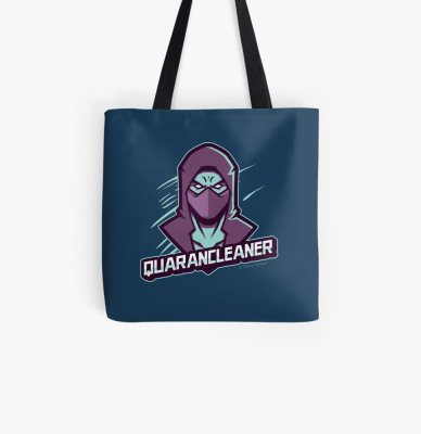 Quarancleaner, Savvy Cleaner Funny Cleaning Gifts, Cleaning Tote Bag