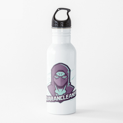 Quarancleaner, Savvy Cleaner Funny Cleaning Gifts, Cleaning Water Bottle