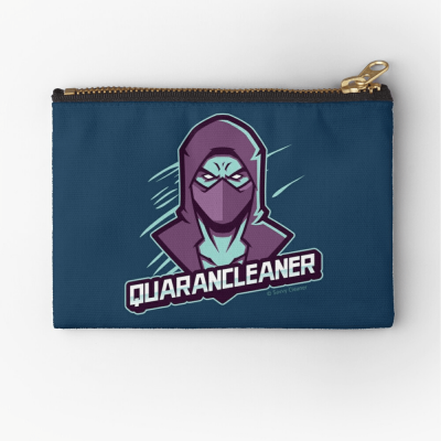 Quarancleaner, Savvy Cleaner Funny Cleaning Gifts, Cleaning Zipper Bag