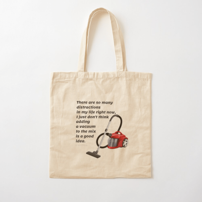 So Many Distractions, Savvy Cleaner Funny Cleaning Gifts, Cleaning Cotton Tote Bag