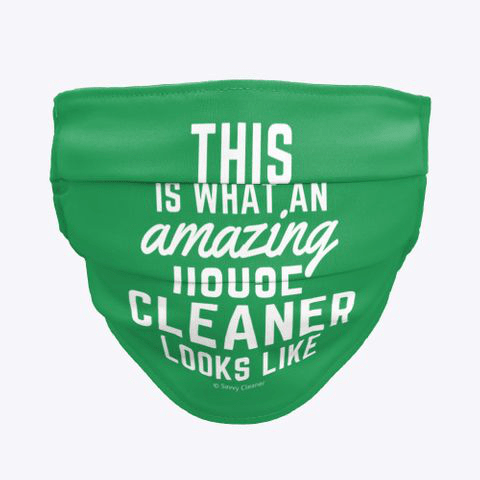 This Amazing House, Savvy Cleaner Funny Cleaning Gifts, Cleaning Cloth Face Mask