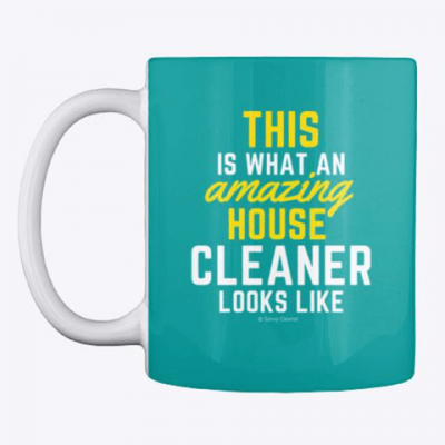 This Amazing House, Savvy Cleaner Funny Cleaning Gifts, Cleaning Mug