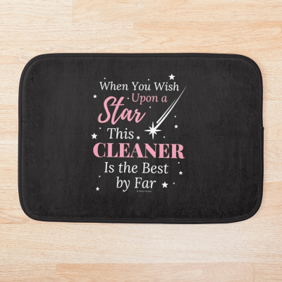 Upon A Star, Savvy Cleaner Funny Cleaning Gifts, Cleaning Bath Mat