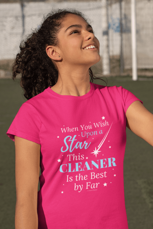 Upon a Star, Savvy Cleaner Funny Cleaning Shirts, Women's Classic T-Shirt