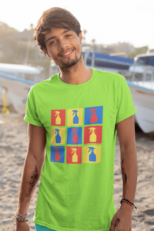 Andy SprayAll, Savvy Cleaner, Funny Cleaning Shirts, Classic T-Shirt