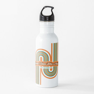Clean Like a Maid, Savvy Cleaner, Funny Cleaning Gifts, Cleaning Water Bottle