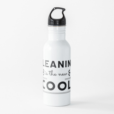 Cleaning is the New Cool, Savvy Cleaner Funny Cleaning Gifts, Cleaning Water Bottle
