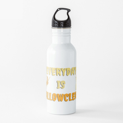 Every Day is Hallowclean, Savvy Cleaner Funny Cleaning Gifts, Cleaning Water Bottle