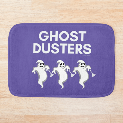 Ghost Dusters, Savvy Cleaner Funny Cleaning Gifts, Cleaning Bathmat