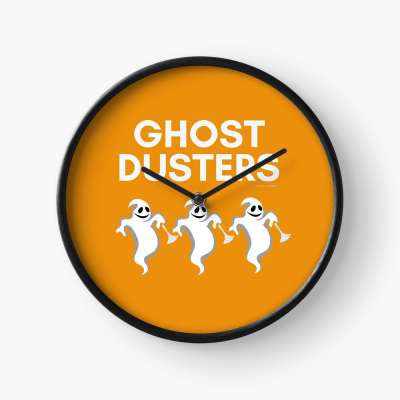 Ghost Dusters, Savvy Cleaner Funny Cleaning Gifts, Cleaning Clock