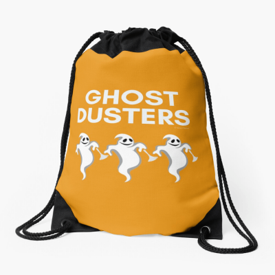 Ghost Dusters, Savvy Cleaner Funny Cleaning Gifts, Cleaning Drawstring bag