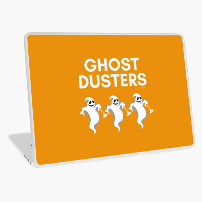 Ghost Dusters, Savvy Cleaner Funny Cleaning Gifts, Cleaning Laptop Skin