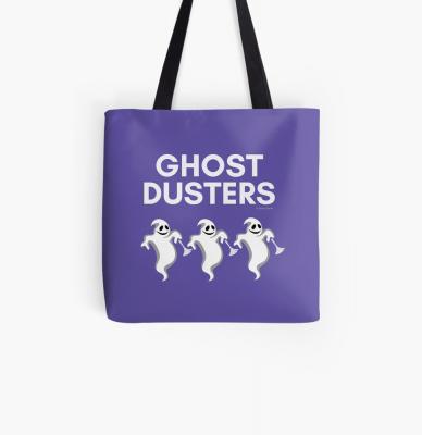 Ghost Dusters, Savvy Cleaner Funny Cleaning Gifts, Cleaning Tote Bag