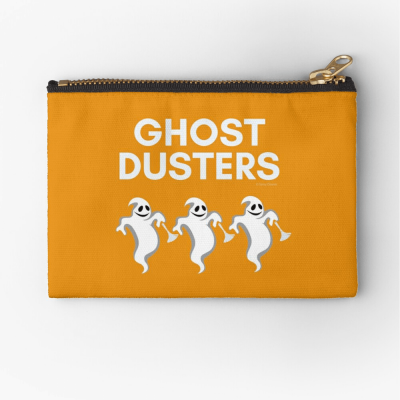 Ghost Dusters, Savvy Cleaner Funny Cleaning Gifts, Cleaning Zipper Bag