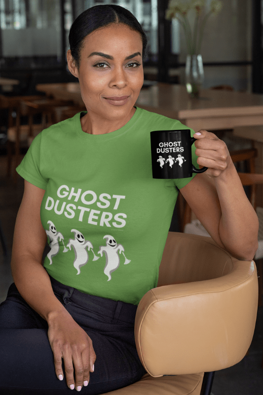 Ghost Dusters, Savvy Cleaner Funny Cleaning Shirts, Standard Tee