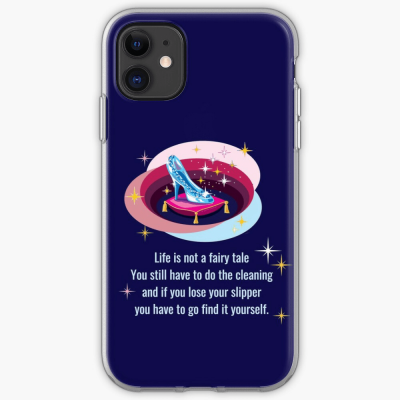 Glass Slipper, Savvy Cleaner Funny Cleaning Gifts, Cleaning Iphone case