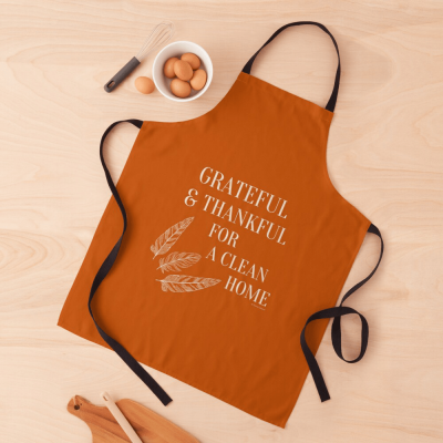 Grateful for a Clean Home, Savvy Cleaner, Funny Cleaning Gifts, Cleaning Apron