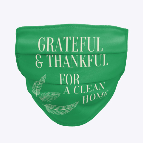 Grateful for a Clean Home, Savvy Cleaner, Funny Cleaning Gifts, Cleaning Cloth Face mask
