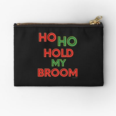 Ho Ho Hold My Broom, Savvy Cleaner Funny Cleaning Gifts, Cleaning Zipper Bag