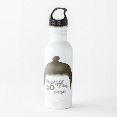 Messy Hair Do Care, Savvy Cleaner Funny Cleaning Gifts, Cleaning Water Bottle